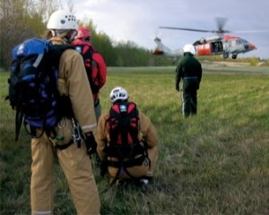 Rescue crew searching for missing 16 year old.